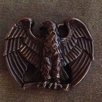 Vintage Avon Metal Eagle Belt Buckle Photo
