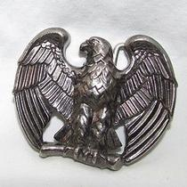 Vintage Avon Metal Majestic Bald Eagle Belt Buckle  Photo
