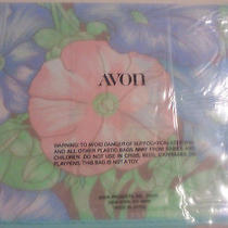 Vintage Avon Morning Glory Scarf New in Package With Plastic Made in Japan Photo