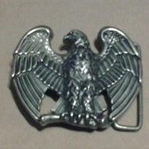 Vintage Avon Standing Eagle Metal Belt Buckle   Photo