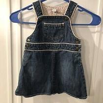 Vintage Baby Gap Denim Overall Dress Photo