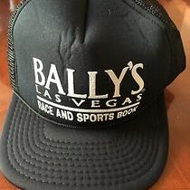 Vintage Ballys Las Vegas Race and Sports Book Hat Photo