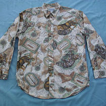 Vintage Banana Republic Safari & Travel Clothing Co. Map & Big Game Cats Medium Photo