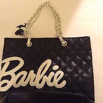 Vintage Barbie Coco Chanel Inspired Purse Beautiful Rare Black and White Photo