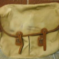 Vintage Barbour Fishing Messenger Bag  Photo