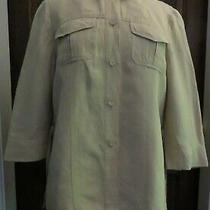 Vintage Basler Shirt Size 12 Beige Safari Style Photo