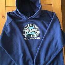 Vintage Billabong Hoodie Blue Xl  Photo