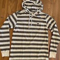 Vintage Billabong Surfplus Long Sleeve T-Shirt Hoodie Striped Size Med Cotton Photo