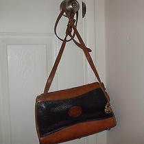 Vintage Black Dooney & Bourke Signature Crossbody Photo