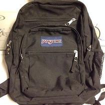 Vintage Black Jansport Backpack-Awesome Photo