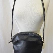 Vintage Black Leather Bag Coach  Photo