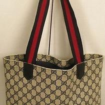 Vintage Blue Gucci Tote Photo