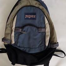Vintage Blue Jansport Backpack  Photo