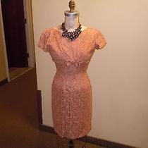 Vintage Blush Lace Dress With Jacket Photo
