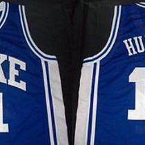 Vintage Bobby Hurley Duke College Basketball Jersey Photo