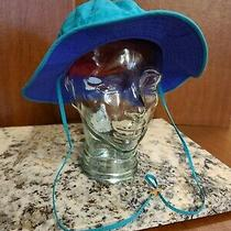 Vintage Bora Bora Booney Hat Teal/blue/green With Tags Photo