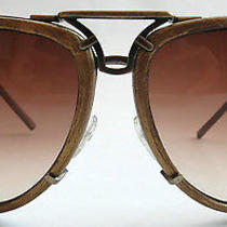 Vintage Bottega Veneta Women's Aviator Sunglasses Photo