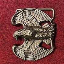 Vintage Brass Eagle Belt Buckle Avon Photo