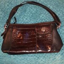 Vintage Brighton Crocodile Handbag Purse Handbag With Matching Wallet Photo