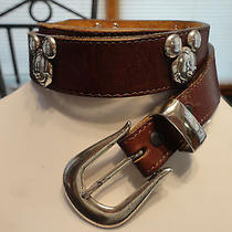 Vintage Brighton Mickey Brown Belt -  30