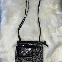 Vintage Brighton Small Black Crossbody Purse Real Leather  Photo