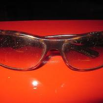 Vintage Brown Gold Tortoise Shell Sunglasses by Gucci Photo