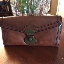 Vintage Brown Long Live Vintage Clutch Fossil Wallet Photo