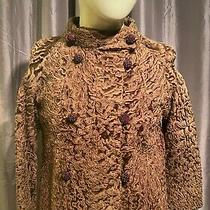 Vintage Brown Persian Lamb Fur Waist Jacket Photo