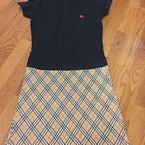 Vintage Burberry Dress Size Small Made in London Photo