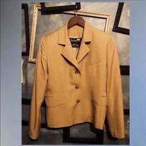Vintage Burberry Khaki Blazer Casual Suit Jacket Photo