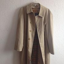 Vintage Burberry Trench Coat Photo