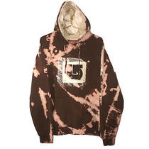 Vintage Burton Snowboard Custom Dyed Hoodie Pullover Brown Pink Mens Large (M) Photo