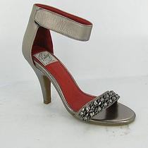 Vintage by Jeffrey Campbell Hough Silver/red Shoes Womens Size 8 M New 130 Photo