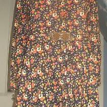 Vintage Cacharel Liberty Mini Dress Floral  Print Retro Mod Hippe  Photo