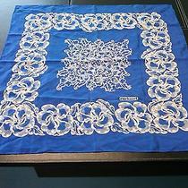 Vintage Cacharel Scarf Blue Photo