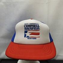 Vintage Campbell Hausfeld 150th Anniversary Mesh Trucker Snapback Hat Photo
