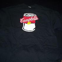 Vintage Campbell's Soup T-Shirt Black Xl Photo