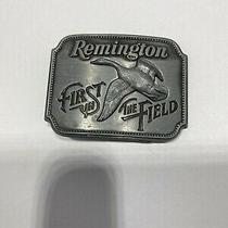 Vintage Canada Goose Remington by Said Bell 1980 Belt Buckle Photo