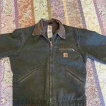 Vintage Carhartt Detroit Blanket Lined Duck Canvas Jacket Medium Photo