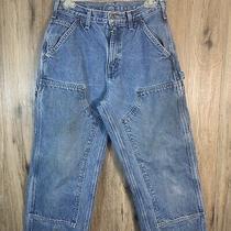Vintage Carhartt Dungaree Fit Blue Jeans Men's 30x30 Rn 14806 Photo