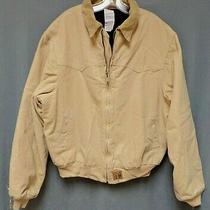 Vintage Carhartt J14 Wet Quilt Lined Full Zip Work Jacket Men's Size X-Large   Photo
