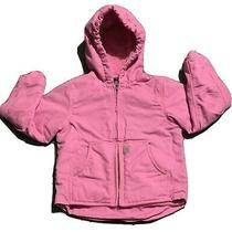 Vintage Carhartt Pink Girls Jacket Coat Size Xs Wool Lined Very Nice Ships Fast Photo