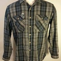 Vintage Carhartt Thick & Heavy Flannel Shirt Xl Work Wear Farm Barn Plaid  Photo