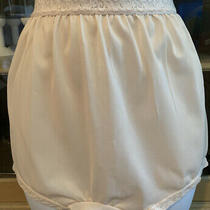 Vintage Carole Candle Beige Color W/ Lace Waistband Brief Panty  Size 10 Photo