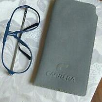 Vintage Carrera Sunglasses Frame Mod. 5590 Blue Excellent Condition  Og Case Photo