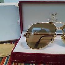 Vintage Cartier Aviator Sunglasses Photo