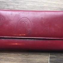 Vintage Cartier Bordeaux Wallet  Photo