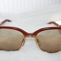 Vintage Cartier Malmaison Wood Sunglasses  Photo