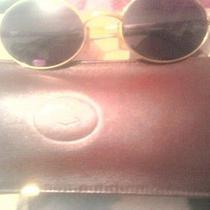Vintage Cartier Original Gold Sunglasses Photo