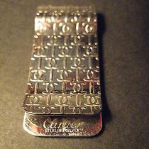 Vintage Cartier Sterling Silver Money Clip Photo